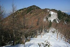 Kiso Mountains - Image: Kyougatake cyuuou Alps 2009 4 30