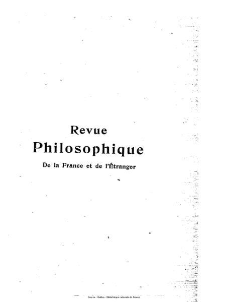 File:Lévy-Bruhl - Revue philosophique de la France et de l'étranger, 89-90 (1).djvu