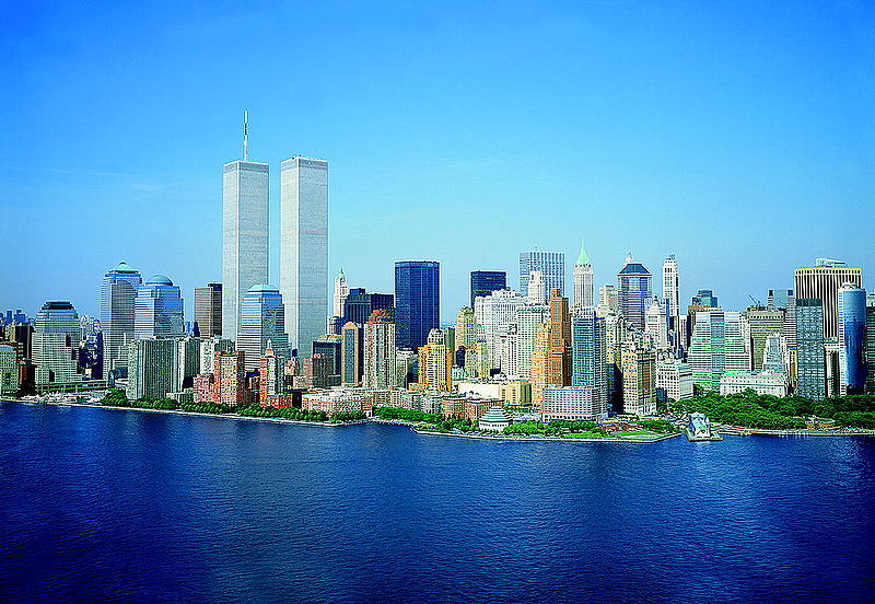 Fil:LOC Lower Manhattan New York City World Trade Center August 2001.jpg