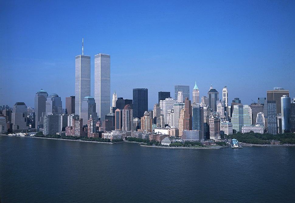 LOC Lower Manhattan New York City World Trade Center August 2001