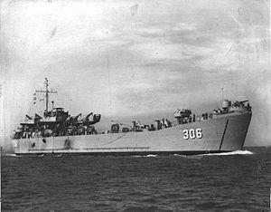 USS LST-306 - USS LST-306
