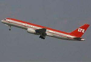 LTE International Airways Boeing 757 Spijkers.jpg