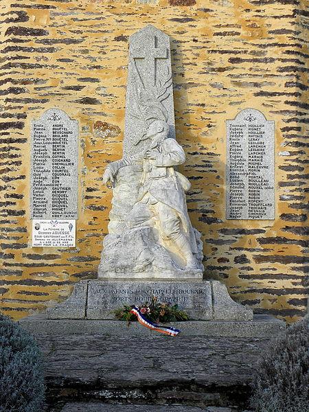 Monument aux morts de La Chapelle-Bouëxic (35).