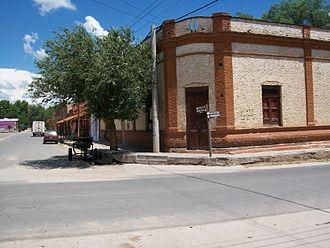 La Paz, Córdoba - Corner in downtown La Paz