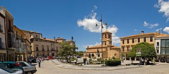 Almazán - Image: La Plaza de Almazán