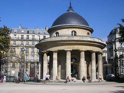 How to get to Parc Monceau with public transit - About the place