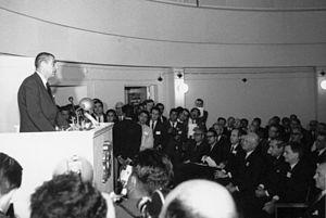 La Silla Observatory - Eduardo Frei Montalva inaugurates La Silla in 1969.