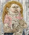 La fillette et son chien, Circa 1968 - 61x50cm (12F).jpg
