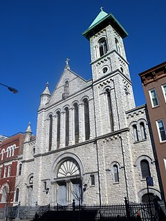 Church of Our Lady of Mt  Carmel (Manhattan) - Wikipedia
