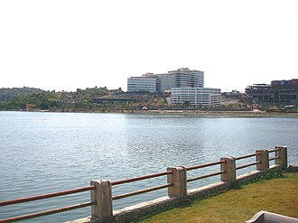 Madhapur - Lake Durgam, located close to the Hitec city