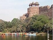 Lake outside Purana Qila, New Delhi