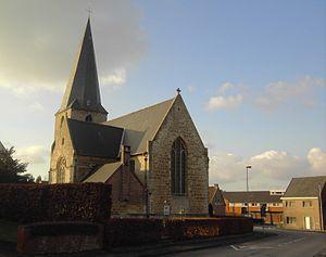 Oosterzele - Image: Landskouter Kerk België