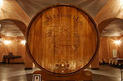 Largest wooden wine barrel (in use).jpg