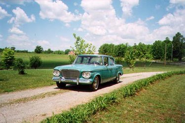 1961 Studebaker Lark Cruiser is considered a spiritual successor to Studebaker Land Cruisers of late 40s and early 50s. Lark Pastoral.jpg