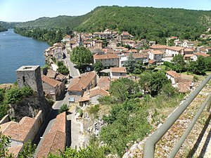 Bellefont-La Rauze - A general view of Laroque-des-Arcs