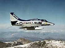 Last bulit A-4 Skyhawk in flight in February 1979.jpg