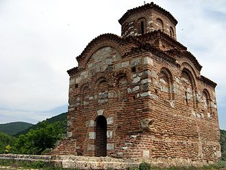 Eparchy of Niš - Serbian Orthodox church in Gornji Matejevac, dating from Middle Ages