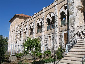 Trappist monastery in Latrun, Israel