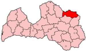 Alūksne District - Image: Latvia Aluksne