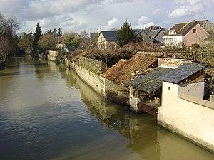 Brou, Eure-et-Loir - Image: Lavoirs de Brou