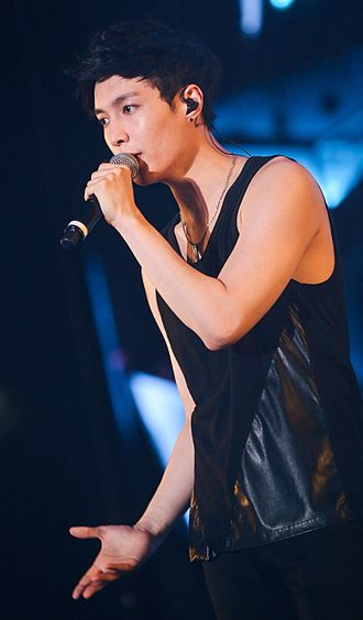 Lay discography - Lay performing at the EXO The Lost Planet concert in Jakarta on September 6, 2014
