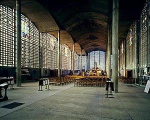 Église Notre-Dame du Raincy - Interior of the Church