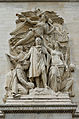 Le Triomphe de 1810 by Jean-Pierre Cortot, Paris 14 June 2015.jpg