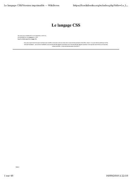 LISTE DES BALISES XHTML PDF