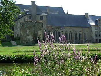 Lehan Abbey, Brittany, France