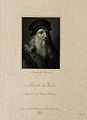 Leonardo da Vinci. Stipple engraving by J. Posselwhite. Wellcome V0006062EL.jpg