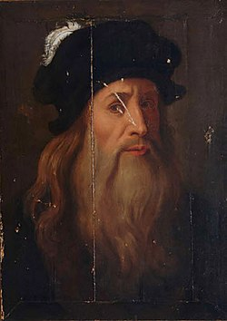The Lucanian portrait of Leonardo da Vinci
