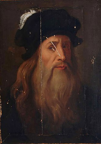 Lucan portrait of Leonardo da Vinci - Image: Leonardo da Vinci LUCAN Hohenstatt 1 portrait