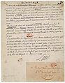 Lettre autographe signée de Louis XVI 1 - Archives Nationales - AE-II-1338.jpg