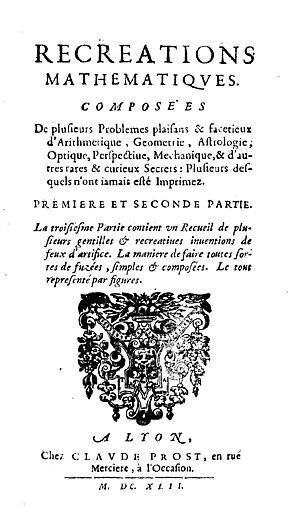 Jean Leurechon - Récréations mathématiques, 1642