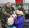 Levent Colak and Afghan children.jpg