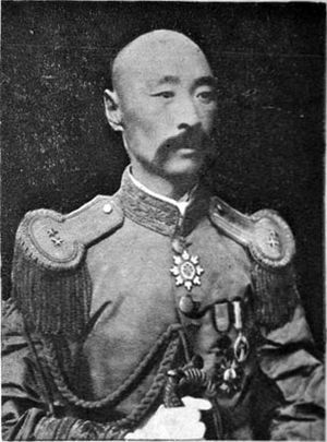 Zhili Army (Fengtian clique) - Li Jinglin in 1924, as commander of the Fengtian Second Army