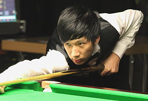 Li Yan (snooker player) - Li Yan at the 2012 Paul Hunter Classic