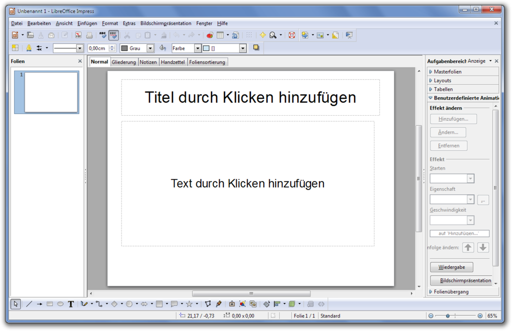 libreoffice impress free download for windows 7