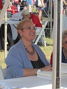 Lidia Bastianich al Book Festival 2010 alla Biblioteca del Congresso a Washington DC.