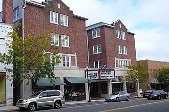 Marion, Virginia - The Lincoln Theatre in Marion, Virginia.