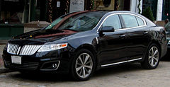 Lincoln MKS przed liftingiem