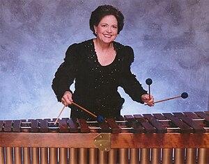 Linda Maxey - Linda Maxey with Marimba