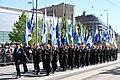Lippujuhlan päivän 2017 paraati 054 Maanpuolustusjärjestöjen lippulinna.JPG