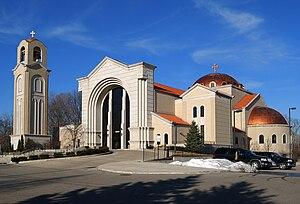 Antiochian Orthodox Christian Archdiocese of North America - Image: Livonia Mi St Mary Antiochian Orthodox Church