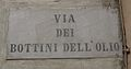 Livorno Via Bottini dell'olio street name 01.JPG