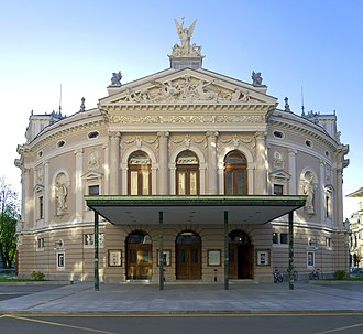 The front of the Opera and Ballet Theatre Ljubljanska Opera 2.jpg