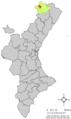 Localització de Forcall respecte del País Valencià.png