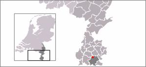Wijlre - Image: Locatie Wijlre