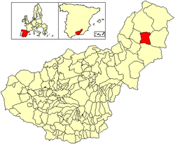 Location of Galera
