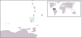 Geography of Grenada - Image: Location Ronde